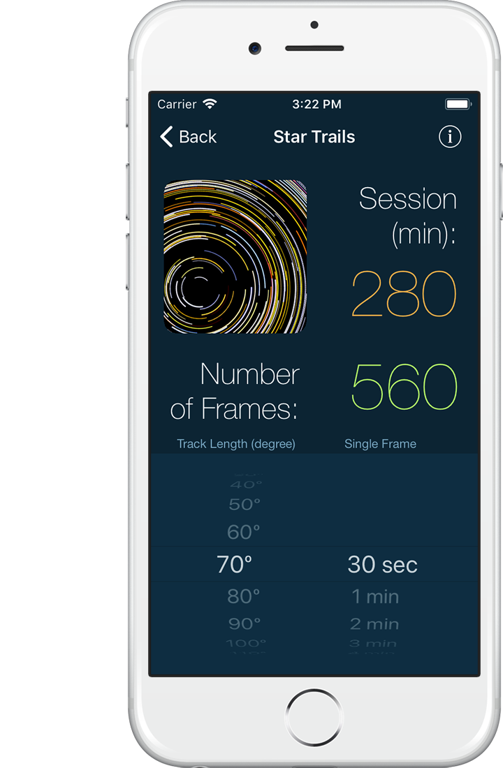 LExp Long Exposure Calculators For IPhone And IPad - Long exposure photographs capture entire day sunrise sunset
